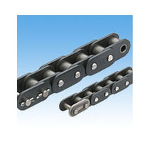 Stainless steel conveyor chain / roller / small-size / lube-free
