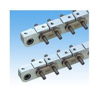Aluminum conveyor chain / small-size / block / needle bearing