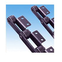 Power transmission chain / roller / attachment / wear-resistant