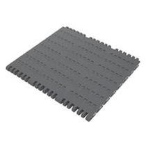 Flexible conveyor belt / modular / plastic