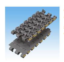 Plastic conveyor chain / small-size / modular / flexible