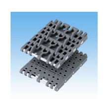 Plastic conveyor chain / small-size / modular / accumulation