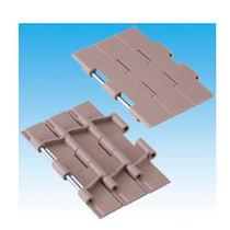 Plastic conveyor chain / slatted / large