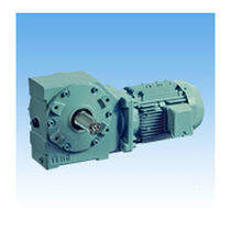 Three-phase electric gearmotor / orthogonal / worm / helical