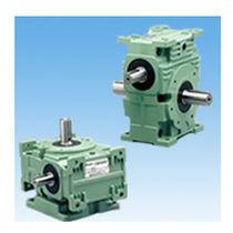 Worm gear reducer / cylindrical / orthogonal / high-performance