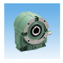 Worm gear reducer / orthogonal / with flange / transmission