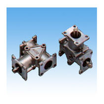 Spiral bevel gearbox / orthogonal / high-performance / low-noise
