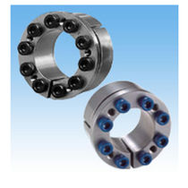 Locking device coupling / stainless steel / nickel-plated / compact