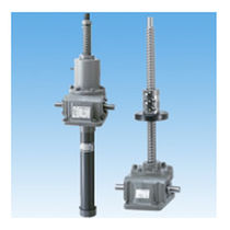Cubic screw jack / ball screw / translating screw / for table height adjustment