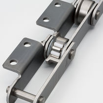 Stainless steel conveyor chain / roller / lube-free / lube-free roller bearing