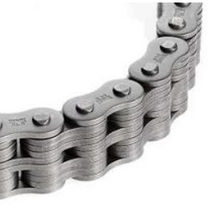 Power transmission chain / riveted / leaf / for heavy loads