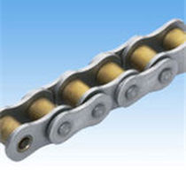 Power transmission chain / titanium / roller / corrosion-resistant