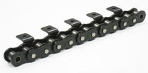 Power transmission chain / roller / heat-resistant / lube-free