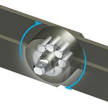 Steel conveyor chain / roller / roller bearing