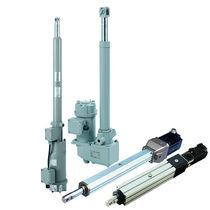 Hydraulic cylinder / electric / worm gear / precision