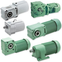Single-phase electric gearmotor / three-phase / parallel-shaft / helical