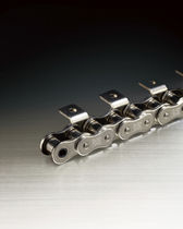 Power transmission chain / stainless steel / roller / double-pitch