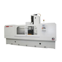 Tangential grinding machine / flat / for metal sheets / PLC-controlled