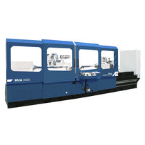 Cylindrical grinding machine / for repairs / for tubes / for metal sheets