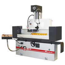 Flat grinding machine / for metal sheets / PLC-controlled / automatic