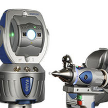 Portable 3D measuring arm / with integrated laser scanner
