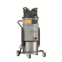 Dust vacuum cleaner / single-phase / industrial / mobile
