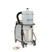 Dust vacuum cleaner / three-phase / industrial / mobile