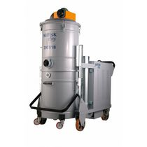 Dry vacuum cleaner / three-phase / industrial / mobile