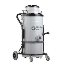 Dry vacuum cleaner / single-phase / industrial / with HEPA filter