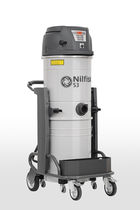 Wet and dry vacuum cleaner / single-phase / industrial / 3-motor