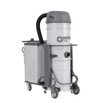 Wet and dry vacuum cleaner / three-phase / industrial / with self-cleaning filter