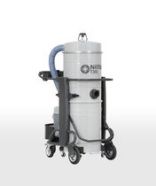 Wet and dry vacuum cleaner / three-phase / industrial / mobile