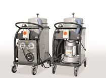 Dry vacuum cleaner / three-phase / industrial / with HEPA filter