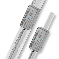 Absolute linear encoder / optical / exposed / stainless steel