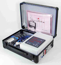 Electrical network analyzer / power / portable / with data logger