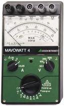 Power meter / analog / three-phase / single-phase