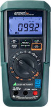 Digital multimeter / portable / with insulation tester / TRMS