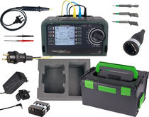 Installation tester / electrical safety / for electrical installations / portable