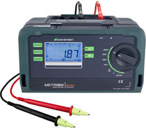 Insulation tester / voltage / low-resistance / cabling