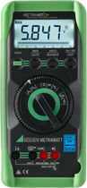 Digital multimeter / with bar graph display / portable / with thermometer