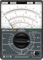 Analog multimeter / portable / voltage / current