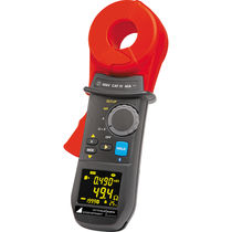 Digital clamp multimeter / portable / current / touch voltage