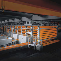 Overhead crane storage system / for bars