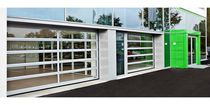 Sectional doors / aluminum / industrial / design