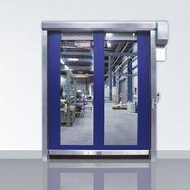 Roll-up doors / stainless steel / indoor / design
