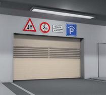 Sectional doors / aluminum / indoor / industrial