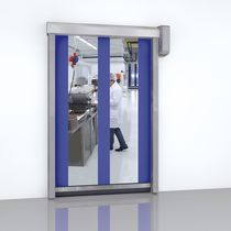 Roll-up doors / PVC / indoor / for the food industry