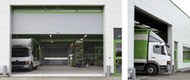 Roll-up doors / metal / industrial / exterior