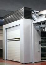 Roll-up doors / metal / aluminum / industrial