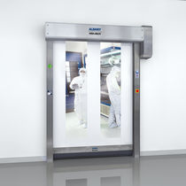 Roll-up doors / for clean rooms / high-speed / safety